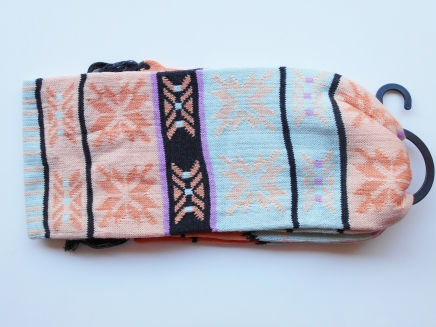 Pastel scarf from Hourglass Apparel